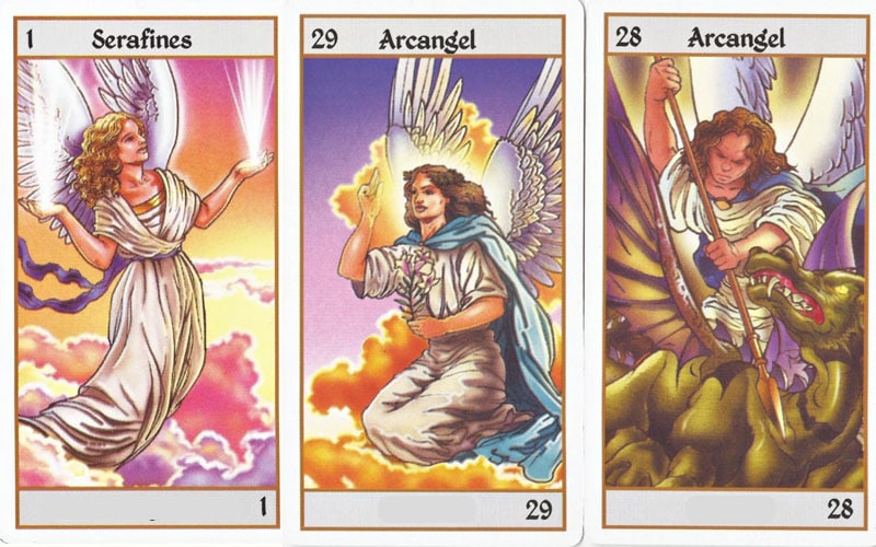 Lettura delle carte dei Tarocchi degli Angeli