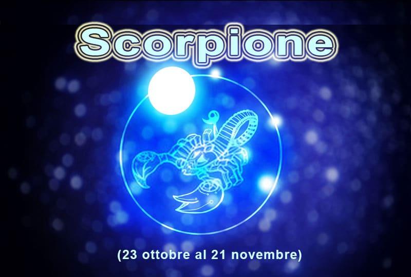 Oroscopo di SCORPIONE oggi 27th Settembre 2020